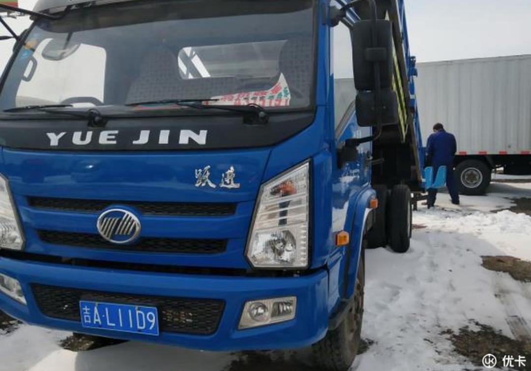 南京依維柯開拓 自卸車  142匹 2015年03月 4x2