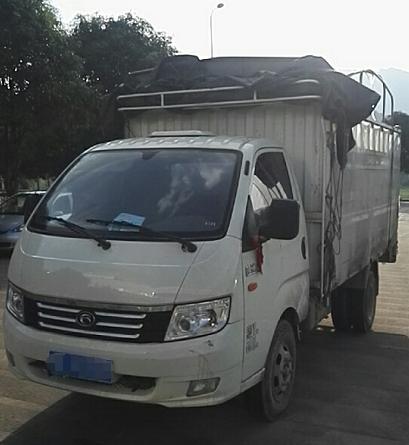 时代康瑞 载货车  88匹 2017年07月 4x2