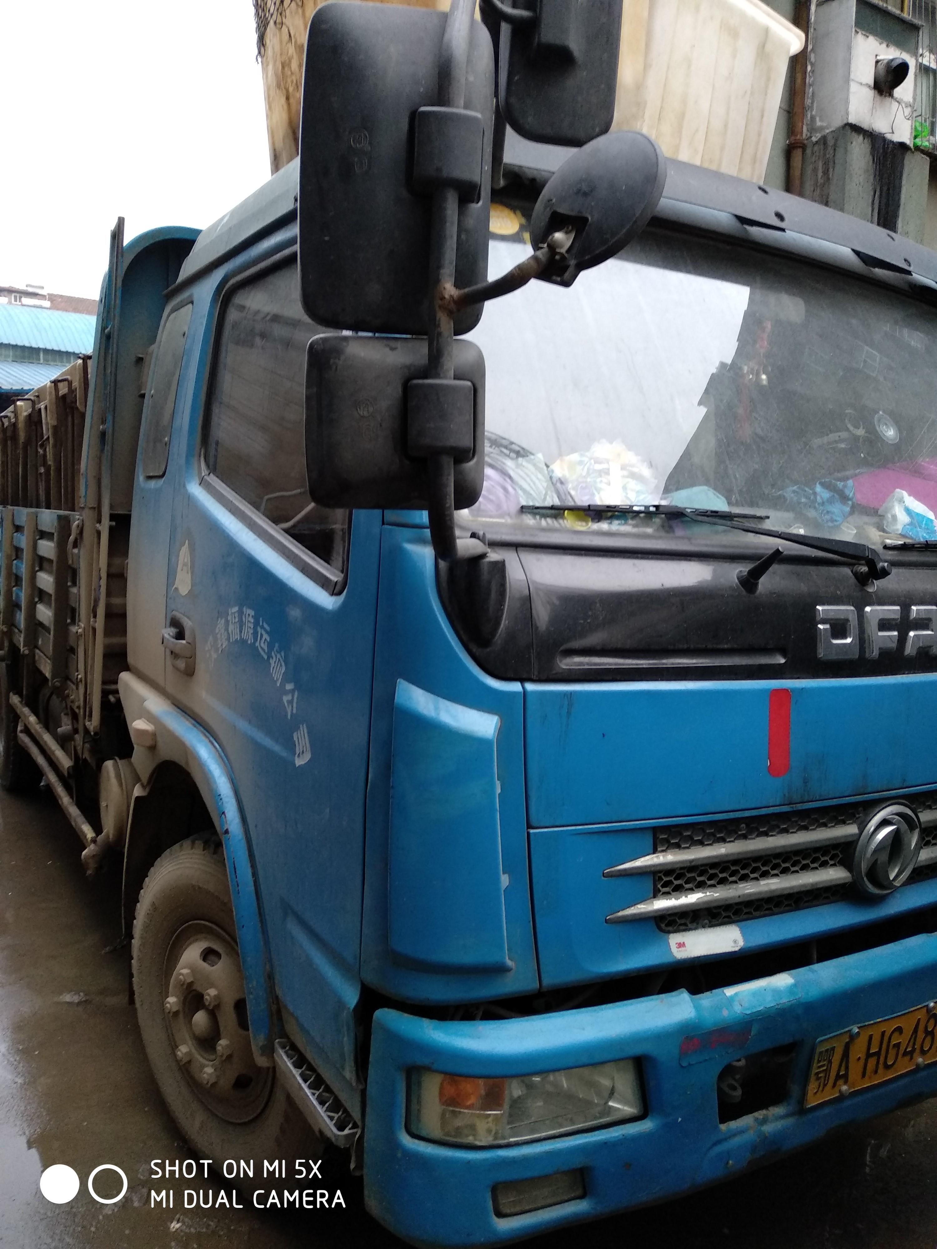 东风多利卡多利卡D5 载货车  120匹 2012年11月 4x2