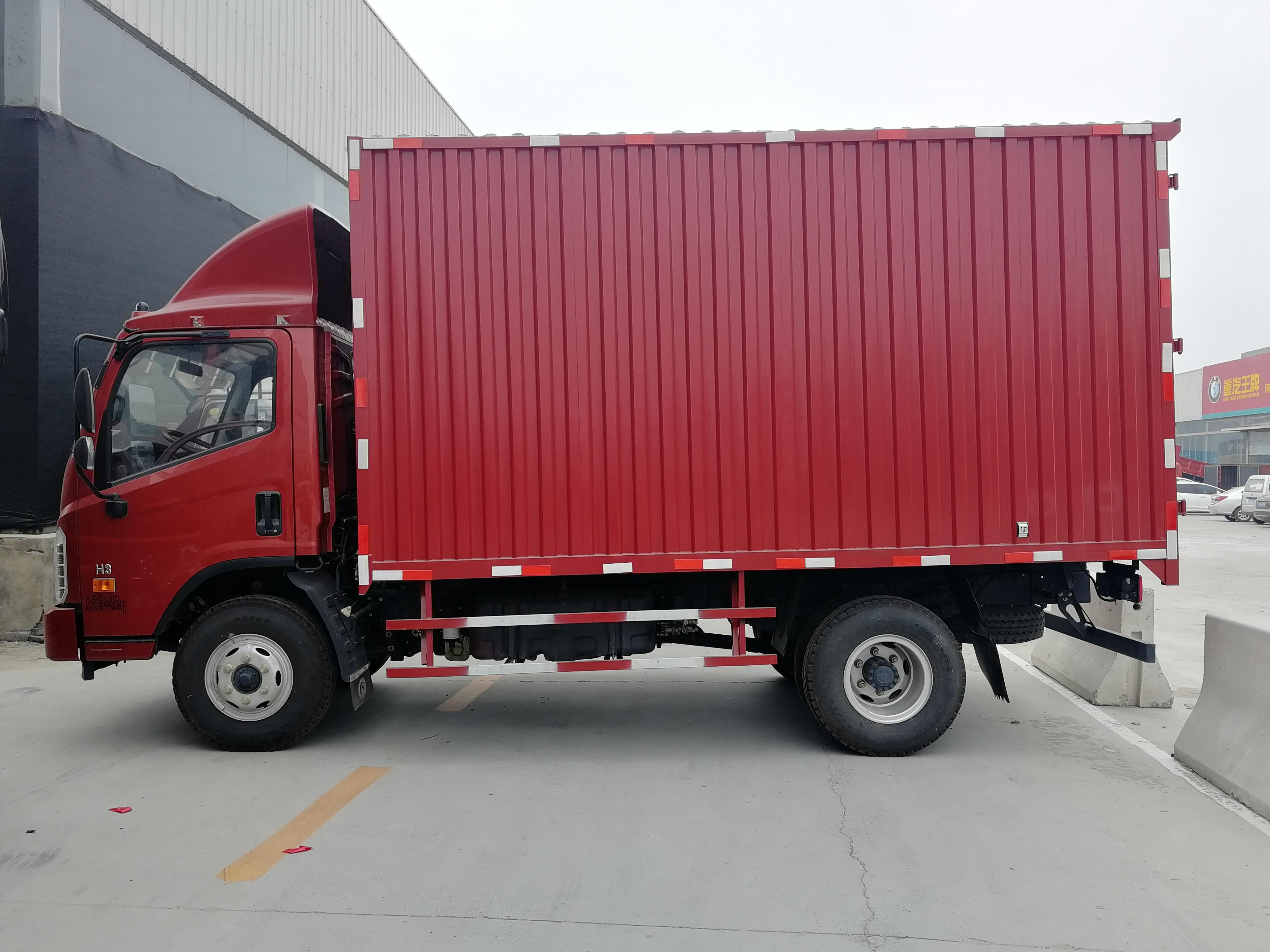 福田欧曼其他车系 载货车  115匹 2012年02月 4x2