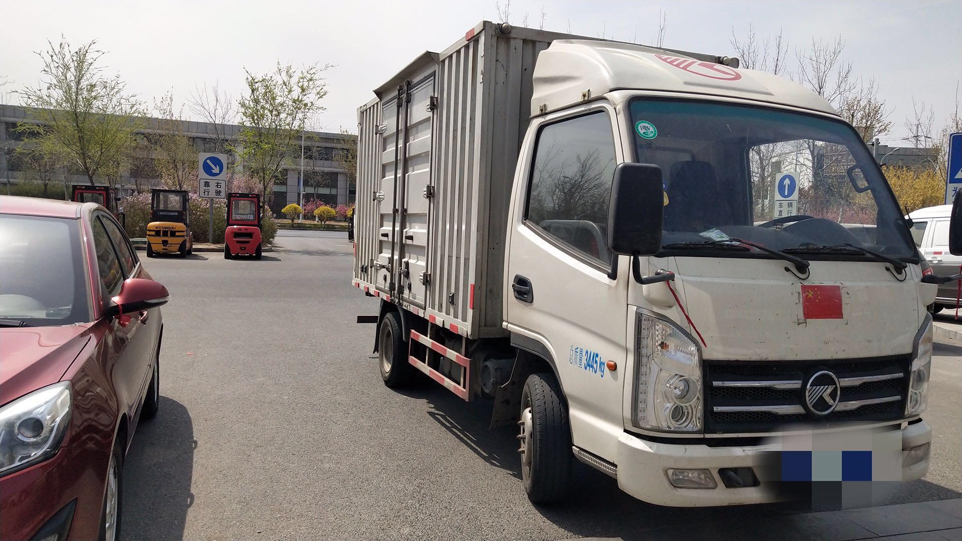 凯马凯捷 载货车  82匹 2017年08月 4x2