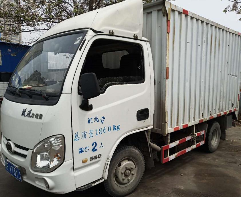 上汽跃进开拓X300 载货车  120匹 2014年06月 4x2