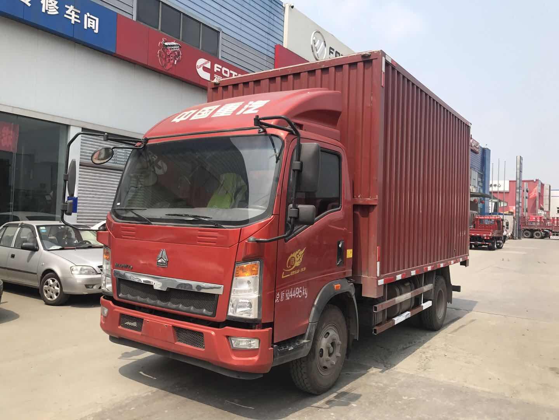 中国重汽HOWO 载货车  143匹 2018年09月 4x2