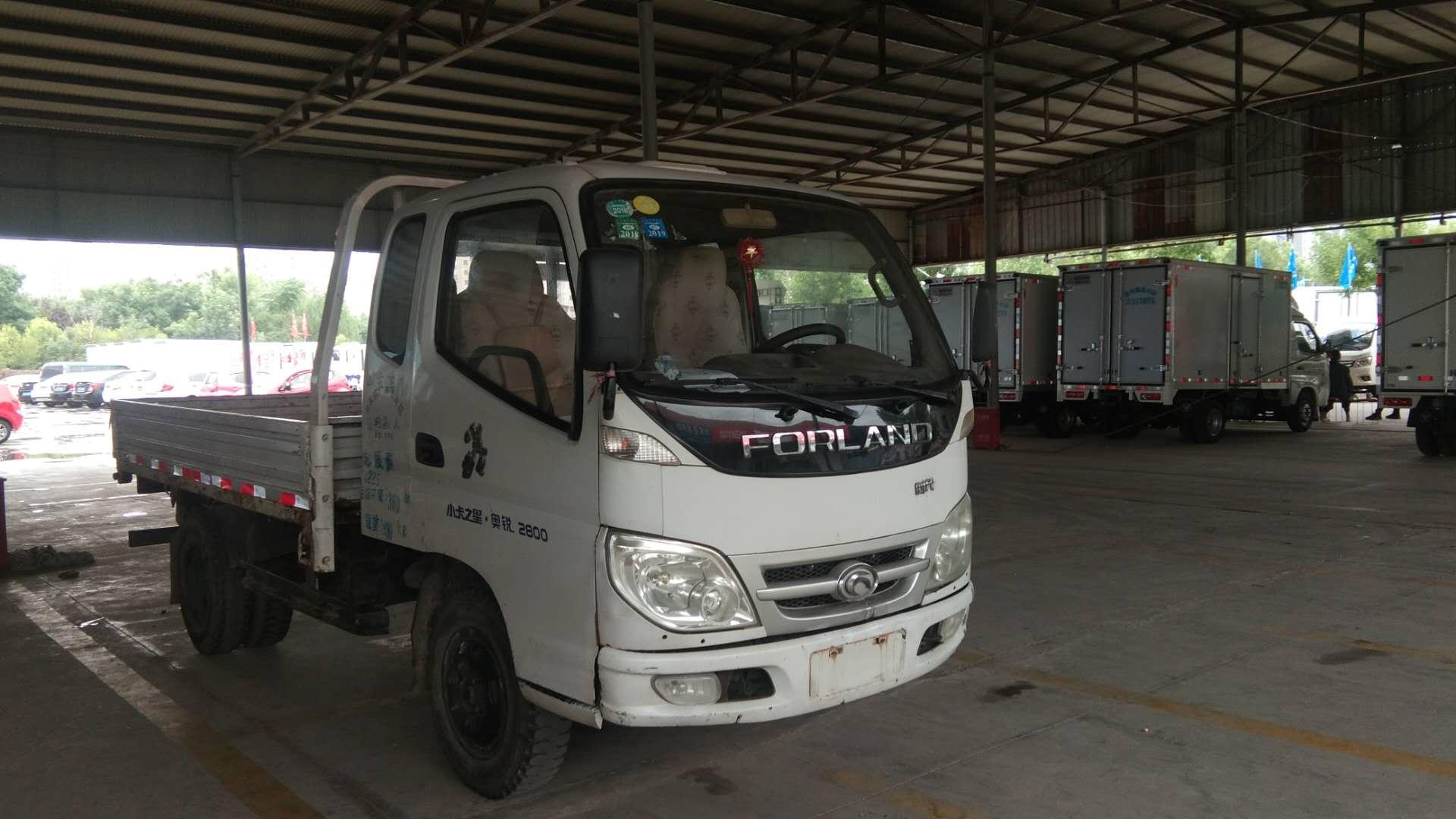 北汽福田其他車系 載貨車  60匹 2010年12月 4x2