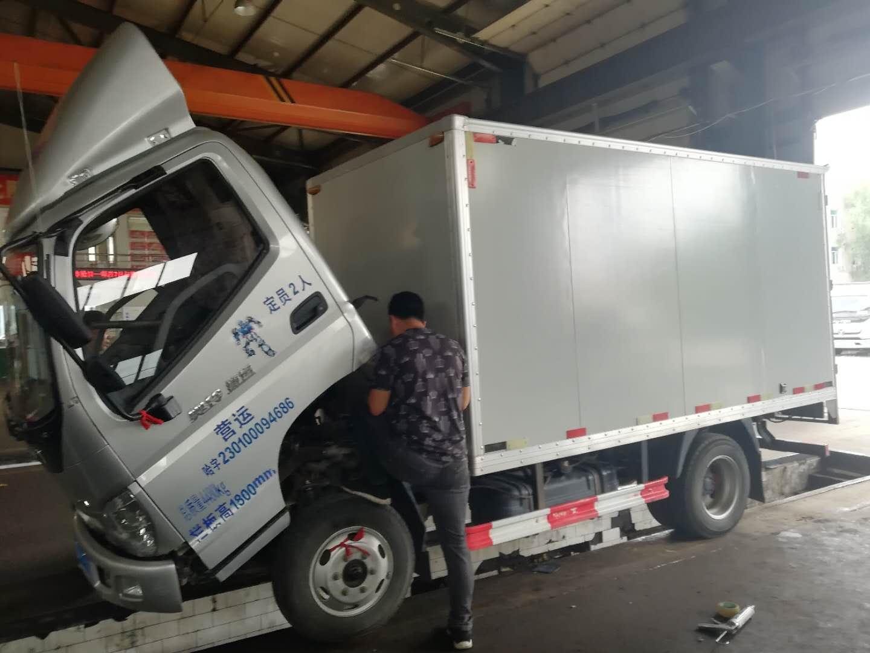 福田欧曼其他车系 载货车  65匹 2015年09月 4x2