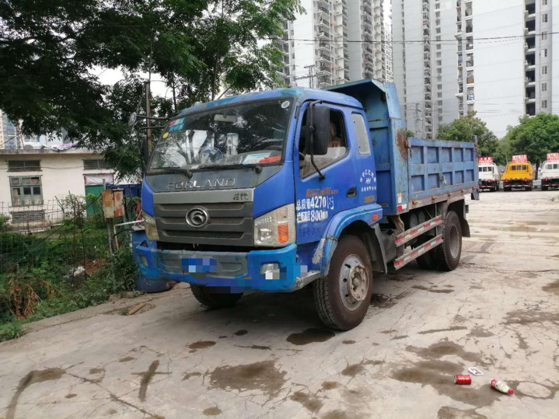 北汽福田其他車系 自卸車  130匹 2014年07月 4x2