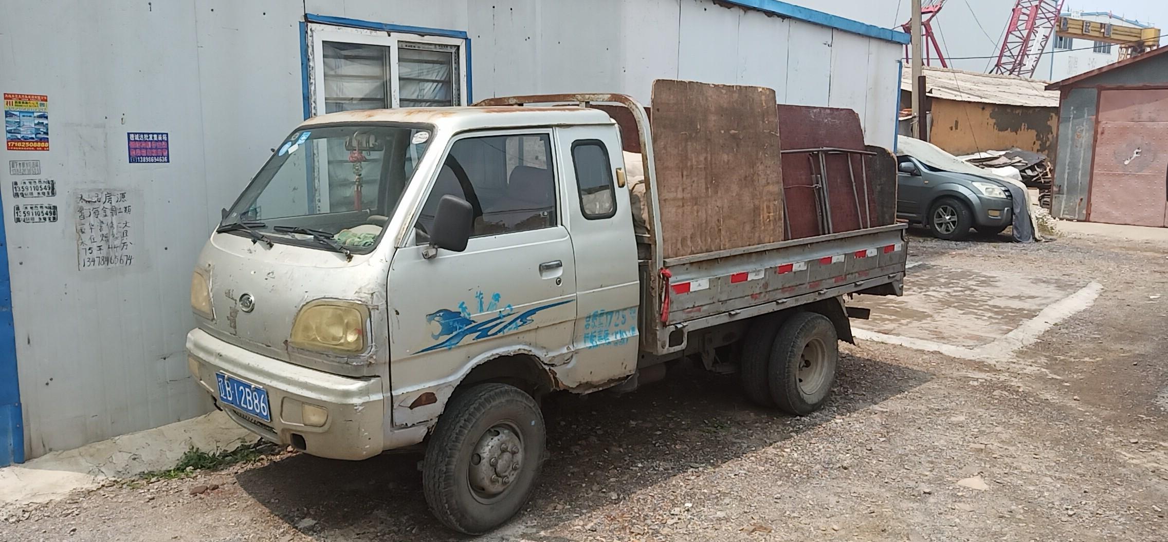 北汽黑豹黑豹Q3 載貨車  54匹 2009年03月 4x2