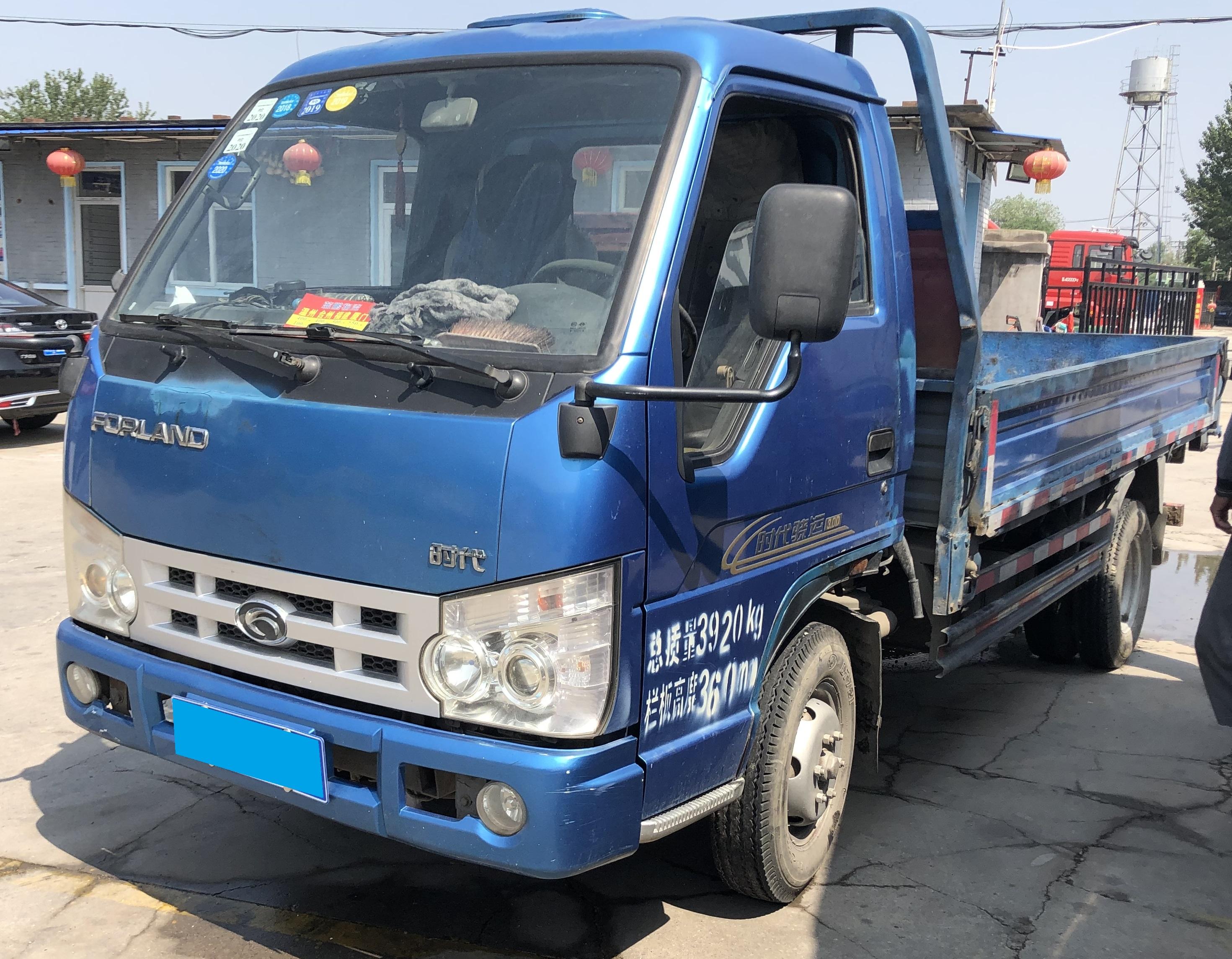 北汽福田其他車系 載貨車  68匹 2014年04月 4x2