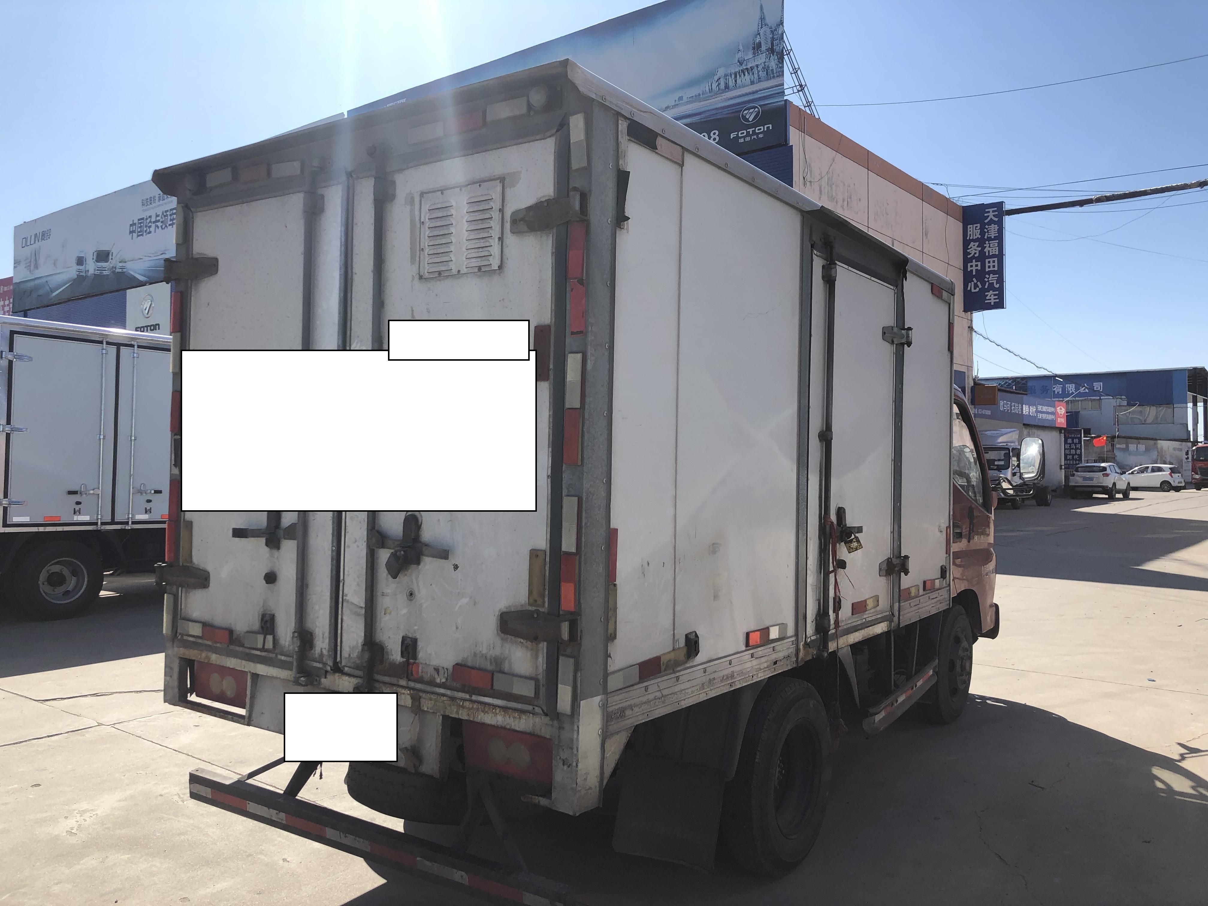 福田奧鈴奧鈴捷運 載貨車  88匹 2013年10月 4x2